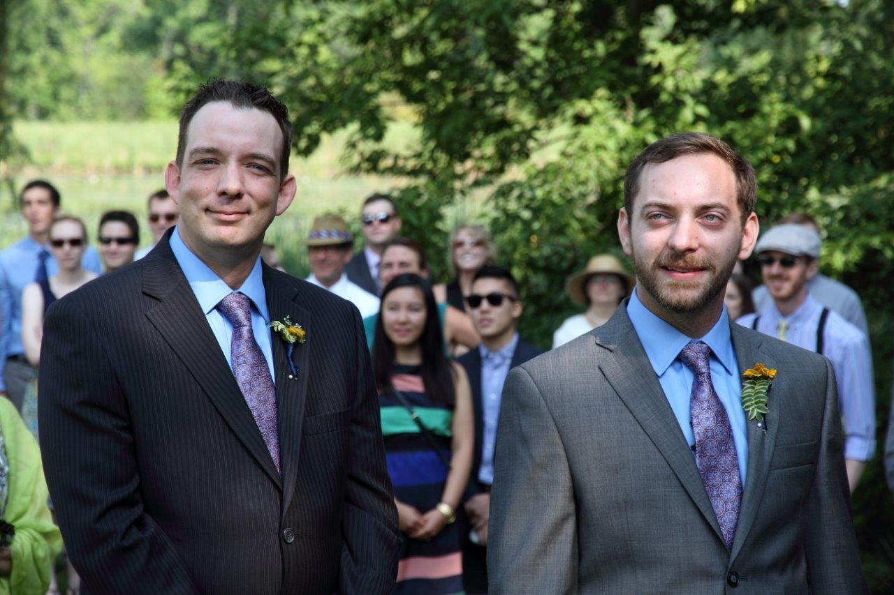 Groom with his best man